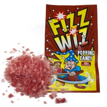 Fizz Whiz Popping Candy - Cola - 4 Packs