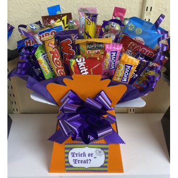 Halloween Sweet & Chocolate Bouquet