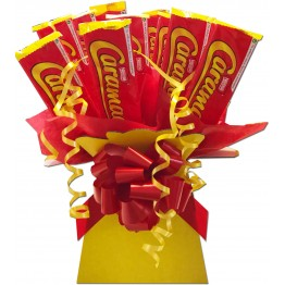 Caramac box bouquet