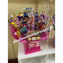 Scratchcard Chocolate Bouquet