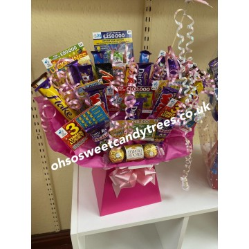 Mother's Day Scratchcard Chocolate Bouquet