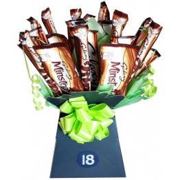 Galaxy Variety Chocolate Bar Bouquet