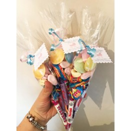 Baby Shower Retro Sweet Cones