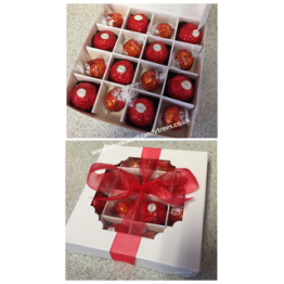 Lindor & Ferrero Gift Box in Red