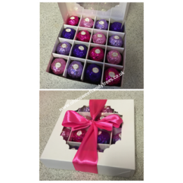 Pink & Purple Ferrero Selection Box