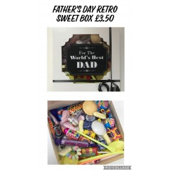 A SPECIAL OFFER! Father's Day Retro Sweets Gift Box