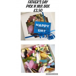 A SPECIAL OFFER! Father's Day Pick N Mix Sweet Gift Box
