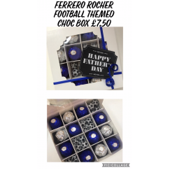 Ferrero Rocher Football Themed Chocolate Box