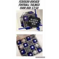 Ferrero Rocher Football Themed Chocolate Box