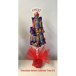 Advent Calendar Chocolate Tree