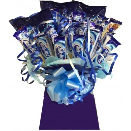 Milkybar White Chocolate Bar Bouquet
