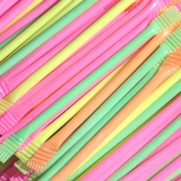 Rainbow Dust Straws Gift Bag of 40 Straws