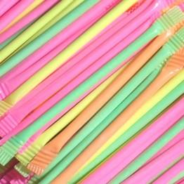Rainbow Dust Straws Gift Bag of 40 Straws