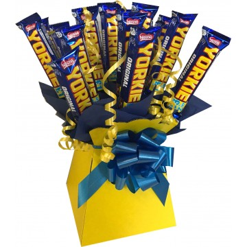 Yorkie Chocolate Bar Bouquet