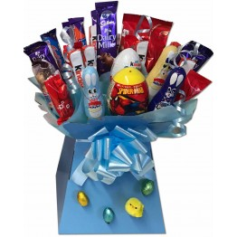 Boys Easter Treats Chocolate Bouquet