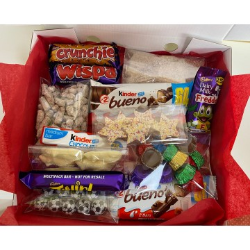 "NEW! Chocoholic 9"" Sweet Pizza Box"