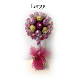 Love Hearts & Ferrero Rocher Flower Tree