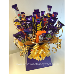 Cadbury Variety Chocolate Bar Bouquet