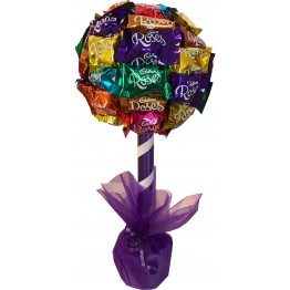 Cadbury Roses Chocolate Tree