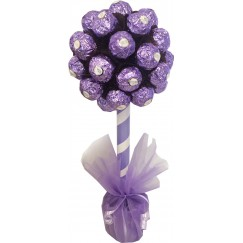 Lilac Ferrero Rocher Chocolate Tree
