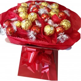 Lindor & Ferrero Box Bouquet - various colours