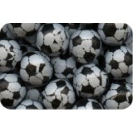 Milk Chocolate Footballs 100g Gift Bag