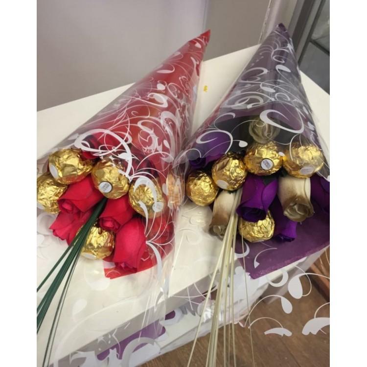 Mini Ferrero Rocher Rose Bouquet