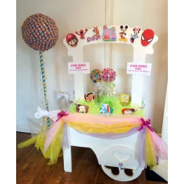 Candy Cart Hire - Kid's Party Package