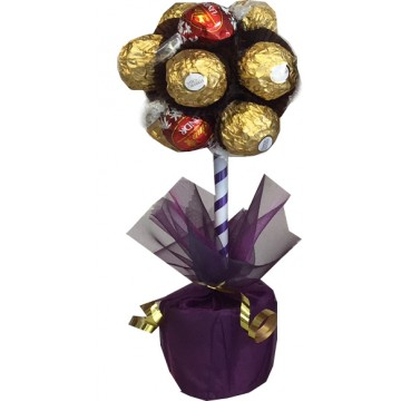 Lindor & Ferrero Rocher Chocolate Mini Tree