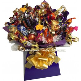 Mixed Chocolate Box Bouquet