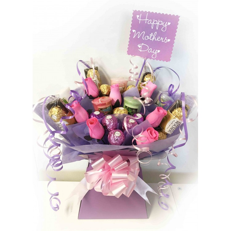 Mother\'s Day Bouquet - Yankee Candle & Ferrero Chocolates