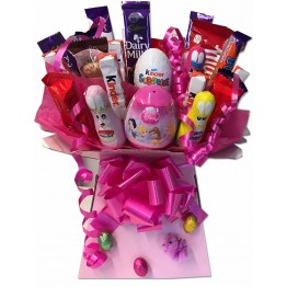 Girls Easter Treats Chocolate Bouquet
