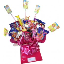 An Ultimate Sweets & Chocolate Box Bouquet