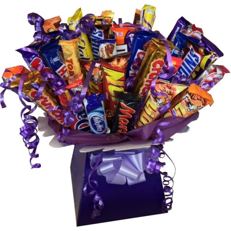 Chocolate Bar Bouquet Uk