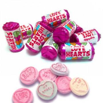 Mini Swizzel Love Hearts 100g Gift Bag