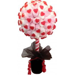 Marshmallow & Haribo Heart Throb Tree